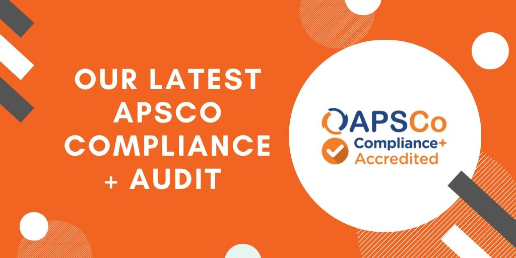 Our latest APSCo Compliance+ Audit