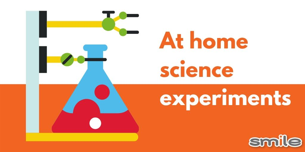 Fun science experiments you can do at home!