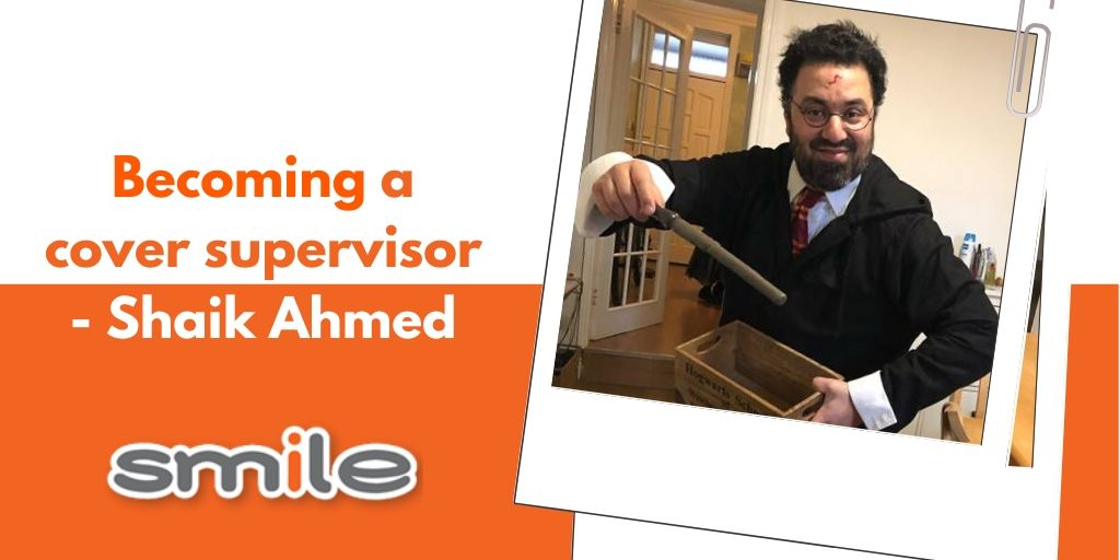 Becoming a cover supervisor - Shaik Ahmed