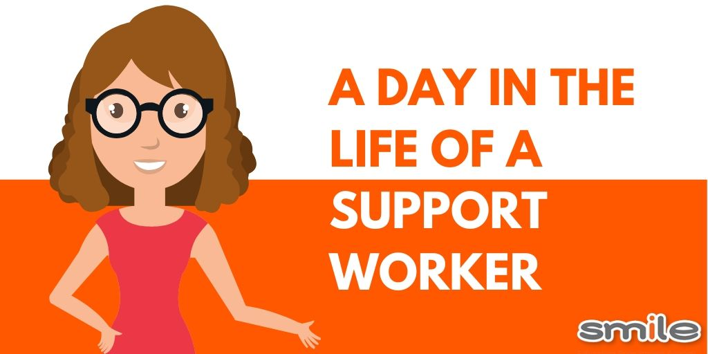 A day in the life of a support worker
