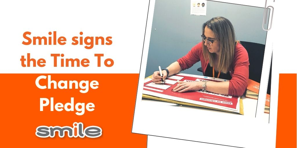 Smile Signs The Time To Change Pledge