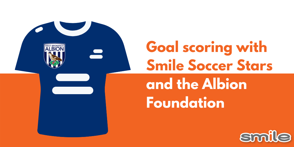 Goal scoring with Smile Soccer Stars and the Albion Foundation