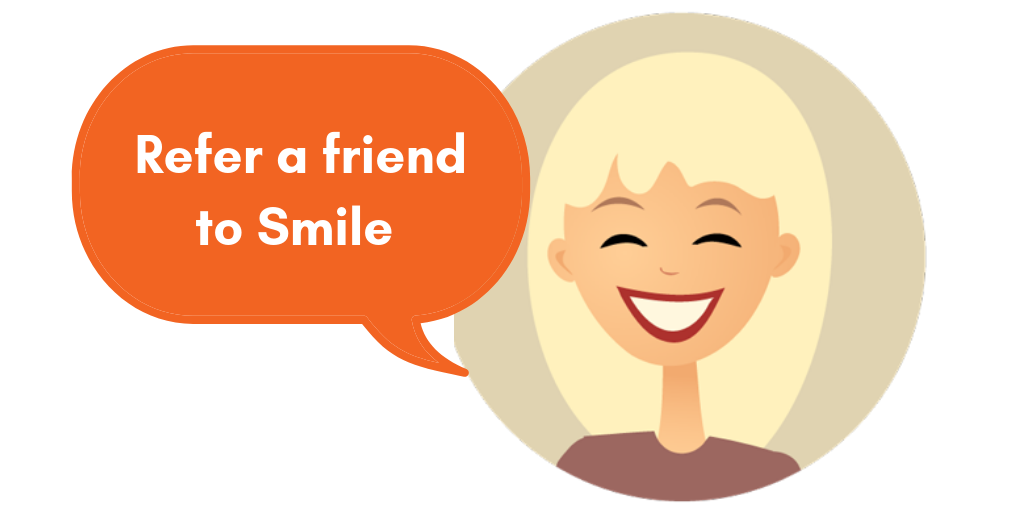 refer a friend to smile