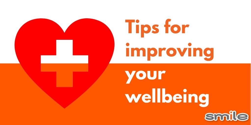 Our top tips for improving your wellbeing